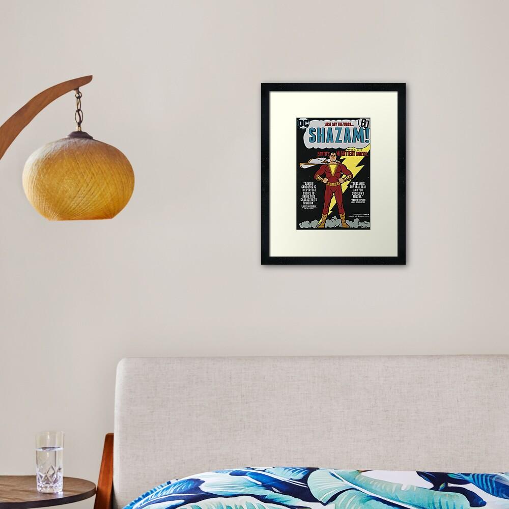 Billy The Kid Poster Framed Art Print