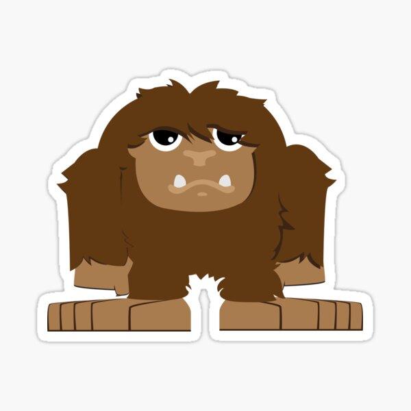 Cute Bigfoot Sticker