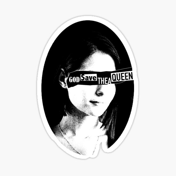 God Save Thea Queen Sticker