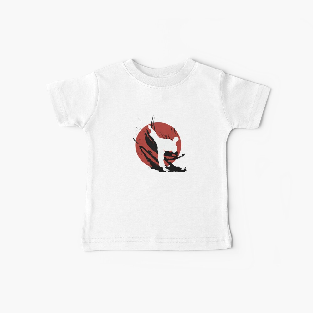 Lassen Sie sich nicht vom Pferdeschwanz täuschen Baby T-Shirt