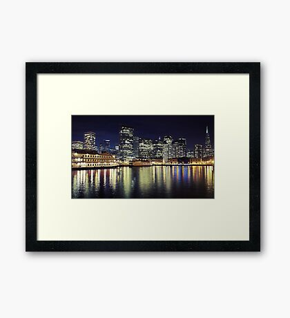San Francisco Reflections Framed Print