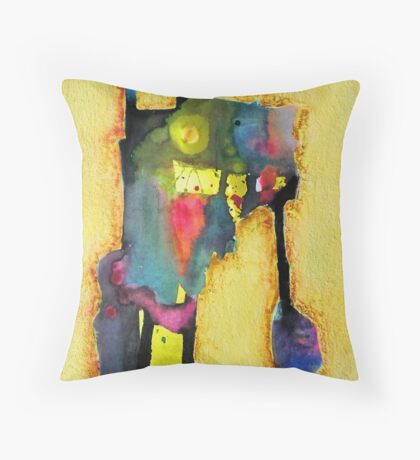 the height of labour Throw Pillow