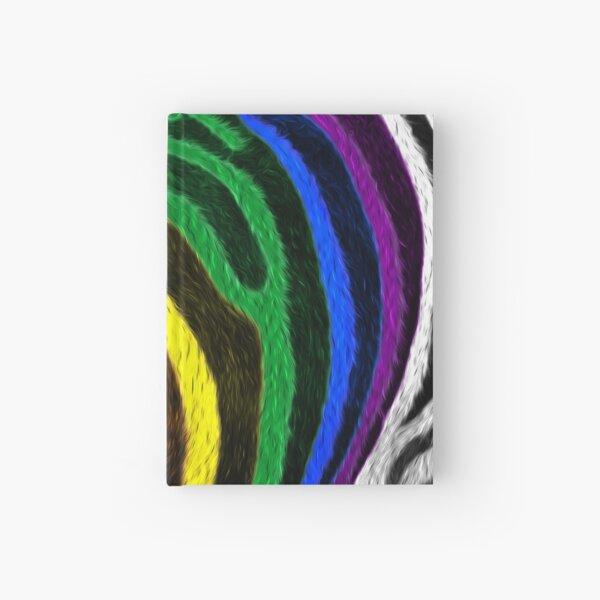 Zebra Pride Hardcover Journal