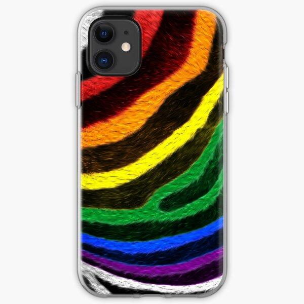 Zebra Pride iPhone Soft Case