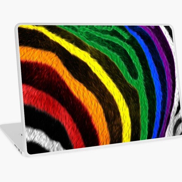 Zebra Pride Laptop Skin