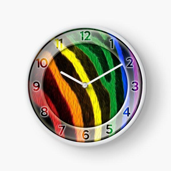 Zebra Pride Clock