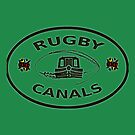 rugby canals plaque bywhacky by bywhacky