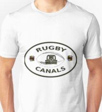 rugby canals plaque bywhacky Unisex T-Shirt