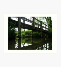 the bridge at the ford, polstead Art Print