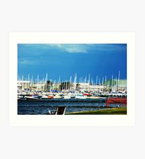 Safe Harbour - City of Williamstown - Along the Strand Art Print