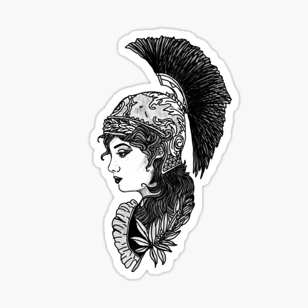 Athena Sticker