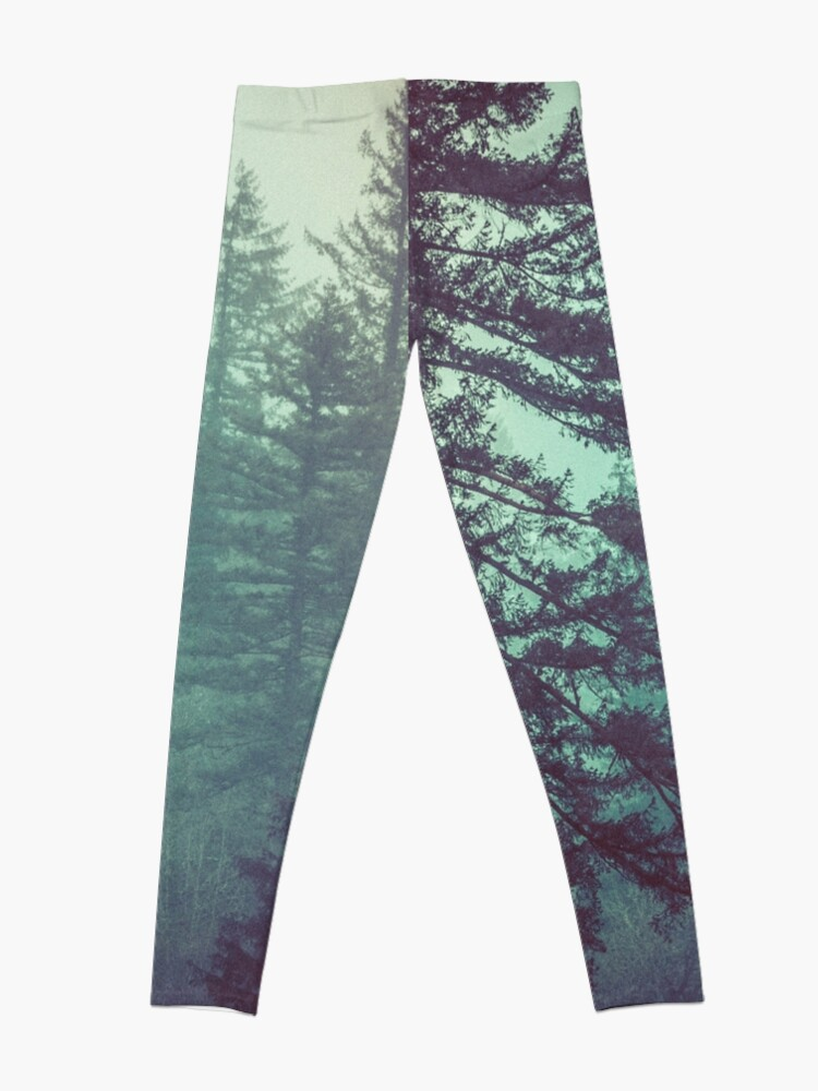 b25a5bbd75e28 Alternate view of Forest Fog - Green Trees Vintage Pacific Northwest Wall  Tapestry Hazy Misty Travel