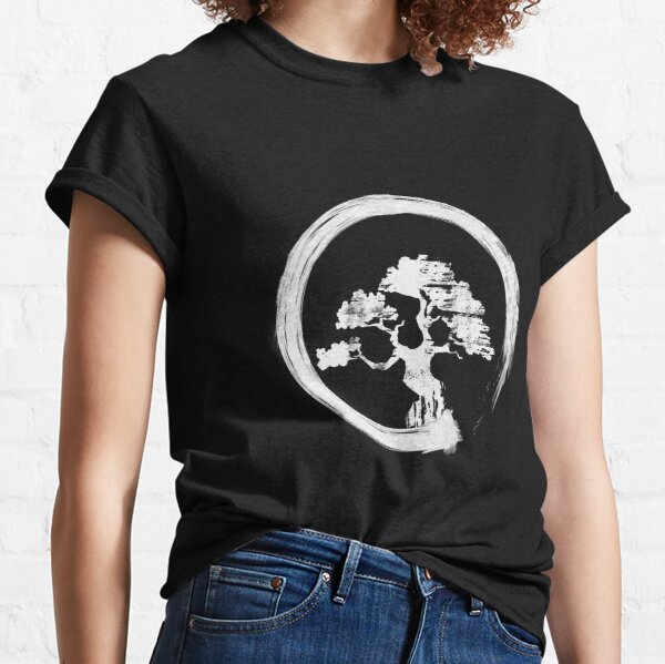 Ying Yang Yoga Buddhist Shirt Gift Bonsai Japanese Tree T Shirt Gift