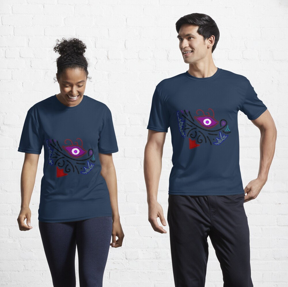 M.I. #1 |☼| Rustic Tribal Cyclops Insignia Active T-Shirt