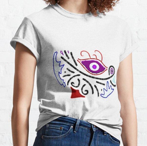 Merch #1 -- Rustic Tribal Cyclops Insignia Classic T-Shirt