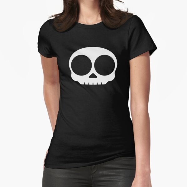 Skull Fitted T-Shirt
