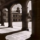 Werribee Mansion Arches by Angie Muccillo