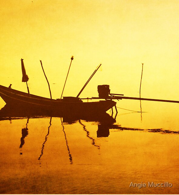 Thai Boat by Angie Muccillo