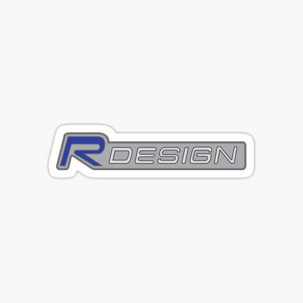 Volvo R Design Pegatina