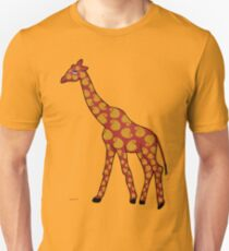 Friendly Giraffe Unisex T-Shirt