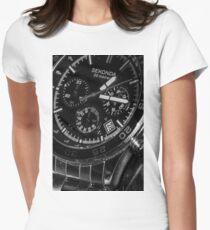 Watch Face - Time Piece Print T-Shirt Women's Fitted T-Shirt