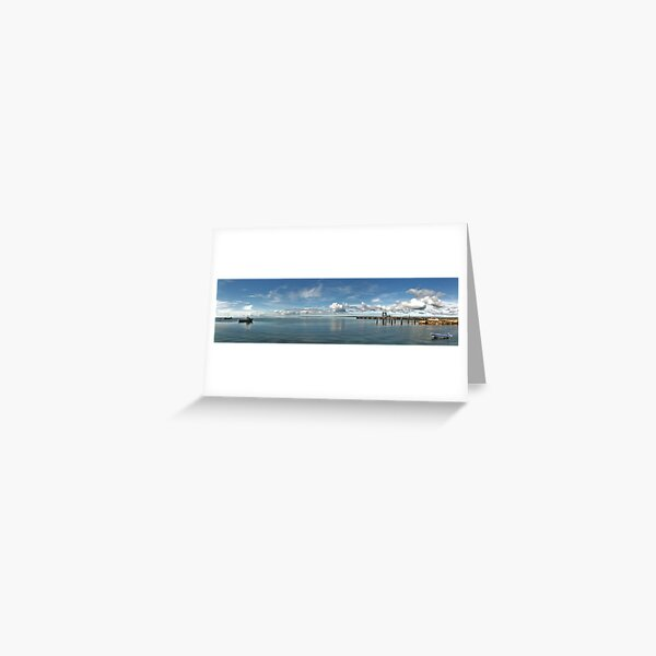 Kingscote Harbour Greeting Card