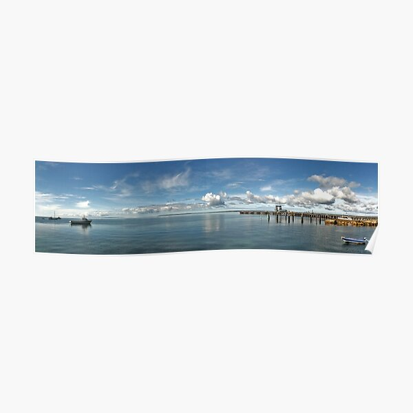Kingscote Harbour Poster