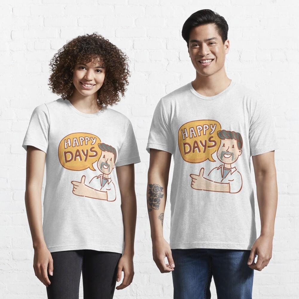 Happy Days by AussiEmoji™ Australia Essential T-Shirt