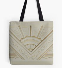 Art Deco Style Relief Tote Bag