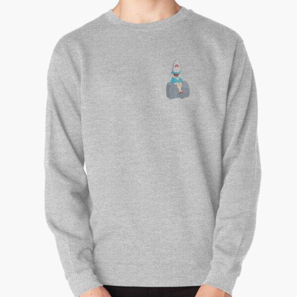 Shark Girl - Buffalo, New York - Albright Knox - Canalside - 716 Pullover Sweatshirt