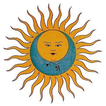 Sonne und Mond Vintage von nicoloreto