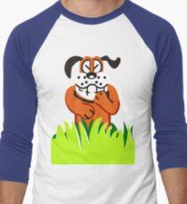 Duck Hunt game loser Men's Baseball ¾ T-Shirt
