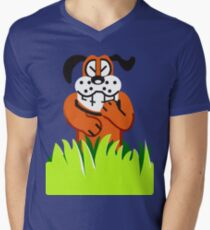 Duck Hunt game loser Men's V-Neck T-Shirt
