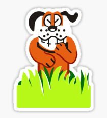 Duck Hunt game loser Sticker