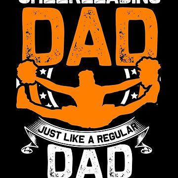 Dad cheerleading by GeschenkIdee