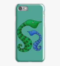 Seahorses Forever iPhone Case/Skin