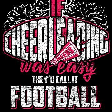 Cheerleading football by GeschenkIdee