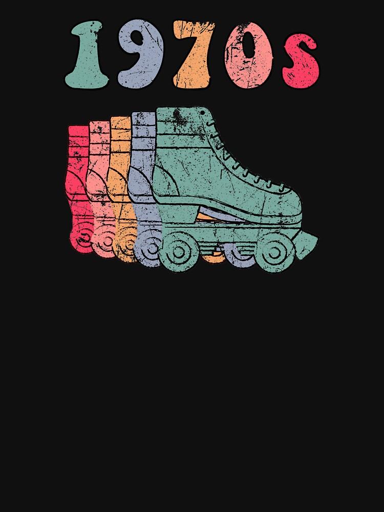 70er Jahre Rollschuhe Disco Derby Retro von phoxydesign