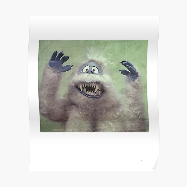 The Abominable snowman Vintage Film  Poster reproduction