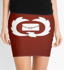 Postbox Symbol Mini Skirt