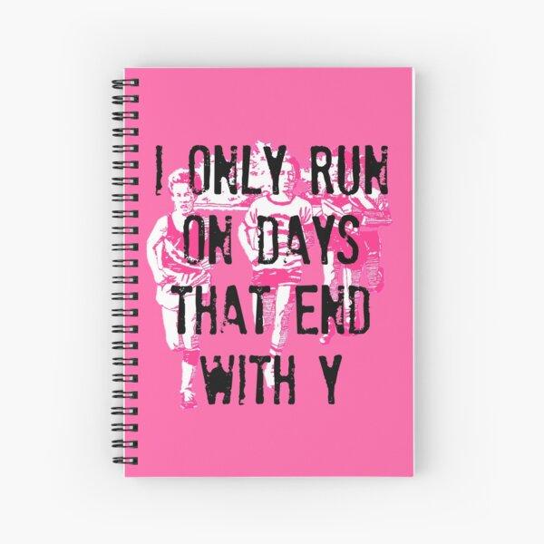 Running Days Spiral Notebook