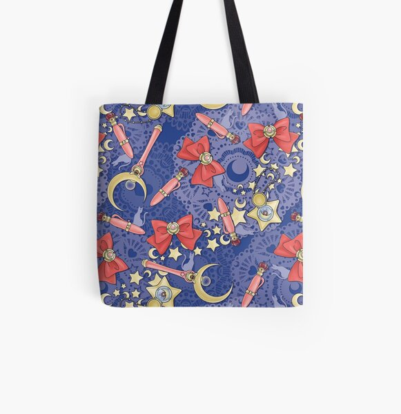 Moon Prism Power - Scatter Print All Over Print Tote Bag