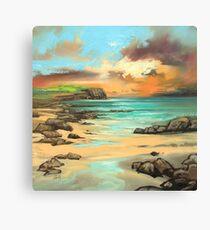 Skye Cliff Canvas Print