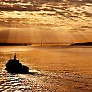 25th of April Bridge - Lisbon, Portugal by David Lewins