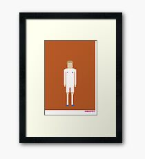 Foot-T 'six foot something' Framed Print
