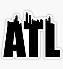 ATL-Skyline Sticker