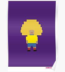 Foot-T 'big hair' Poster