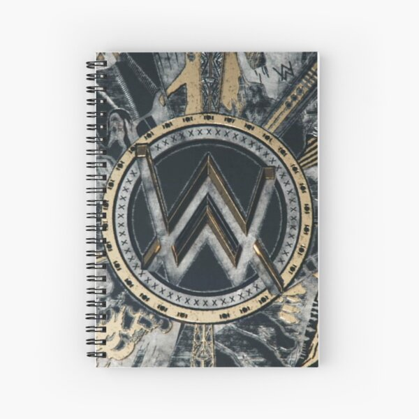 Art Alan Walker Cahier à spirale