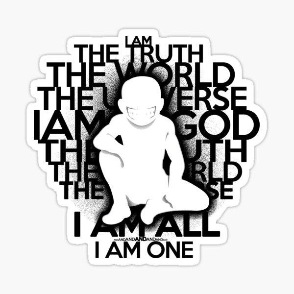The Truth (White ver.) Sticker