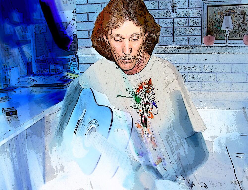 The guitar man by vigor